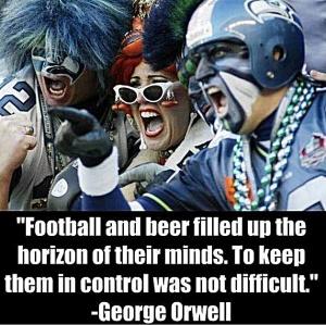 Orwellian Footbal Image